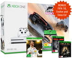 Xbox One S 500GB, FIFA 18 Ronaldo Edition (Worth $129), Forza Horizon 3 + 2 Other Games - All for $398.00 @Mighty Ape