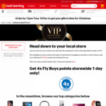 MyNoelLeeming VIP Event - 4x Fly Buys, Exclusive Deals, Product Demos