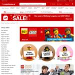 LEGO Buy 1 Get 1 Half Price @ The Warehouse