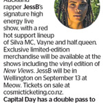 Win a Double Pass to JessB from The Dominion Post