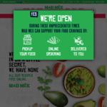 Free Baja Fries w/ $10+ Spend at Mad Mex