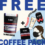 Free Coffee Pack + $5 Shipping (All of NZ) @ Vibe Coffee