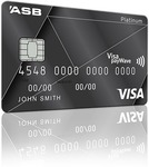 ASB Visa Platinum Rewards Credit Card $250 Cash Back