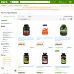 15% off Select Sports Special Items @ iHerb