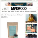 Win 1 of 5 Frankie Apothecary Skin Repair Duo Packs from Mindfood