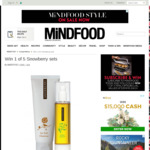 Win 1 of 5 Snowberry Sets from Mindfood
