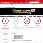 ASB Auckland Showground Sales (Photos with Prices, e.g. Chromecast $48, SanDisk 16GB USB $6, Panasonic 20L Microwave $88)