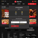 Pizza Hut Free Regular Cheese Pizza (Min Spend $8)