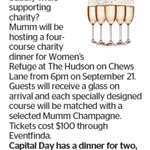 Win a Dinner for 2 at The Hudson on Chews Lane (Worth $200) from The Dominion Post (Wellington)