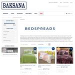 75% off Bedspreads (from $150) @ Baksana
