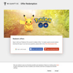 [Android, IOS] Pokemon Go - Free in Game Rewards