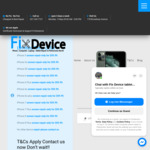 iPhone 6 Glass Repair $49, Complete Screen $59, iPhone 7 & 8 Repair $59 @ Fix Device