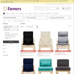 1/2 Price Chairs and Other Furniture at 50% off Furniture Sale @ Farmers