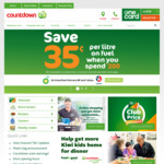 Countdown - Save 35c Per Litre on Fuel with $200 Spend