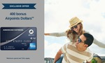 400 Airpoints Dollars with AmEx Platinum Airpoints Card ($195 Annual Fee) - The Upgrade Collective Exclusive Offer