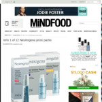 Win 1 of 12 Neutrogena Prize Packs from Mindfood