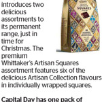 Win a Pack of Whittaker's Artisan Squares from The Dominion Post
