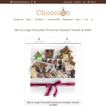Win a $200 Chocolab Christmas Hamper from Chocolab
