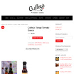 Culley's Tangy Tomato Sauce $0.01 @ Culley's Online