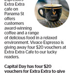 Win 1 of 4 $20 Vouchers for Extra Extra from The Dominion Post (Wellington)