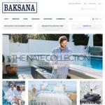 30% - 70% off Storewide - Bedding, Towels, Robes, Sleepwear, Gifts @ Baksana