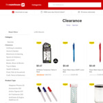 Extra 70% off Selected Clearance Products @ The Warehouse