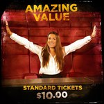 $10 Movie Tickets, All Sessions @ Reading Cinemas LynnMall Auckland
