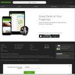 15% off Site Wide Via App @ Groupon
