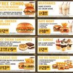 Carl's Jr May Coupons: Free Combo with Brewhouse Bacon Burger, Jr Chicken Burger $2, Sundae $2 + More