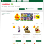 Assorted Easter Chocolates 2 for $10 @ Countdown