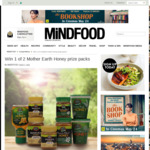 Win 1 of 2 Mother Earth Honey Prize Packs from Mindfood
