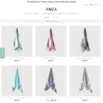 50% off across All Turkish Towels (from NZ $19.95) + Free Shipping @ Koza Towels