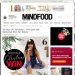 Win a NZ Nature Pure Silk PJ Set (Worth $210) from Mindfood