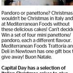Win a Selection of Italian Christmas Cakes from The Dominion Post
