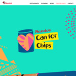 Swap a Can of Non-Perishable Food for Regular PERi-PERi or Old Style Chips @ Nando's