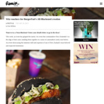 Win BurgerFuel Neon Blackout (All Blacks Burger) Vouchers From Remix Magazine