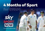 4 Months of Sky Sport Now $39.96 @ Grabone