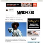 Win an OPPO A9 Smartphone (Worth $499) from Mindfood