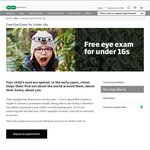Free Eye Examinations for All Kids Under 16 @ Specsavers