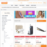 Up To 80% Off for Click Frenzy + Free Standard Shipping @ Shaver Shop