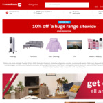 Extra 10% off Storewide (Exclusions Apply, Works with Giveit) @ The Warehouse