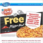 Spend $20 or More on Hasbro Games (including Milton Bradley & Parker Brothers games) and Get a Free Pizza @ The Warehouse
