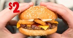 BBQ Rodeo Burger $2 @ Burger King