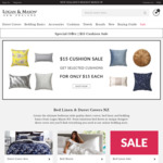 25% OFF SITEWIDE: Bed Linen, Duvet Cover Sets, Sheets & Cushions