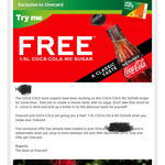 Free 1.5l Coke No Sugar on Your Onecard @ Countdown
