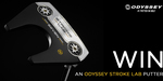 Win an Odyssey Stroke Lab Putter Worth $369 from Callaway Golf