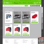 1-Day - 4pk Jockey Performance Midway Trunks $29.95 Or 6Pk Bonds Trunks $34.99 + $4.99 Shipping
