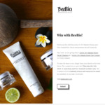 Win 1 of 3 Manuka Honey Facial Cleanser & Day Creme Packs from BeeBio