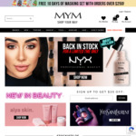 $20 off Your First Order of $200+ @ MYM Beauty