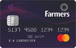 $75 Cashback on First $75 Spend with New Farmers Mastercard ($50 Annual Fee)